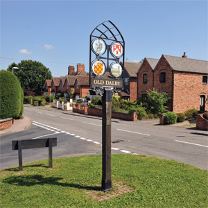 Old Dalby Village Green